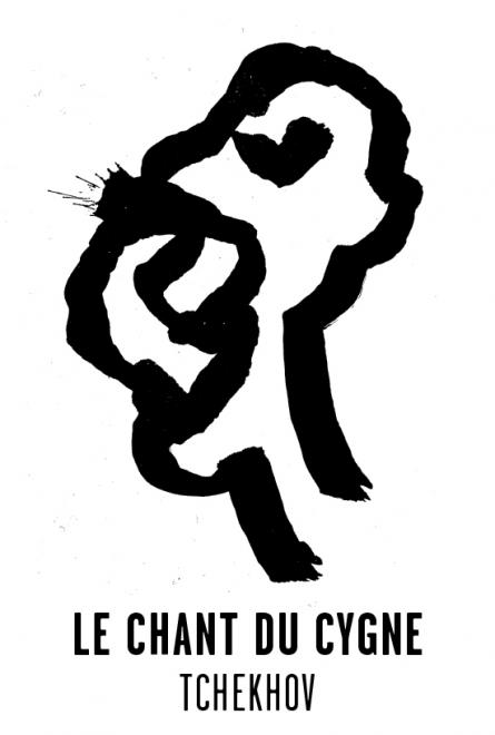 Le chant du cygne - Les visuels de Tchekhov 137 évanouissements ont été crées par l'atelier Nous Travaillons Ensemble