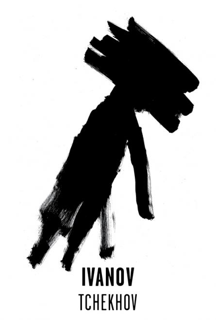 Ivanov - Les visuels de Tchekhov 137 évanouissements ont été crées par l'atelier Nous Travaillons Ensemble