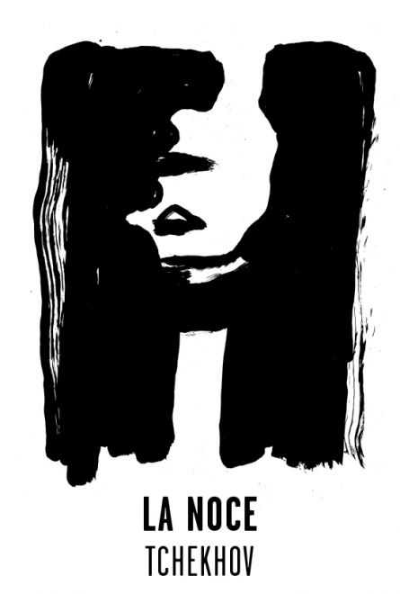 La noce - Les visuels de Tchekhov 137 évanouissements ont été crées par l'atelier Nous Travaillons Ensemble