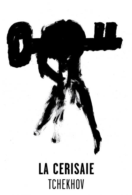 La Cerisaie - Les visuels de Tchekhov 137 évanouissements ont été crées par l'atelier Nous Travaillons Ensemble