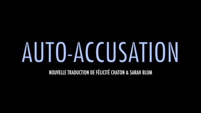 Auto-Accusation